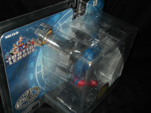atom figura mini busto liga de la justicia dc superman dist0