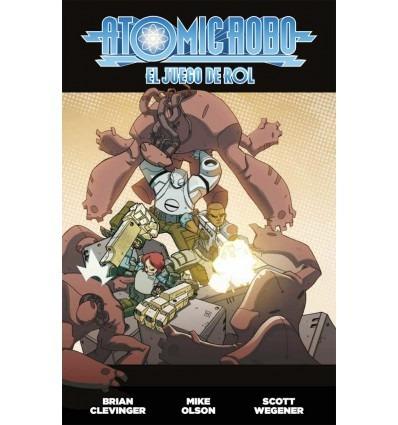 atomic robo - aventuras para fate juego de rol - invictvs