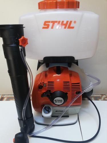 atomizadora stihl sr440 de 20 litros de 4.5 hp