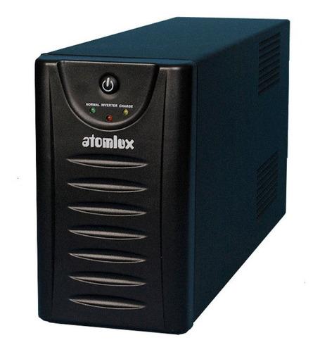 atomlux ups 500 ups + estabilizador 500va conetores rj11 pce