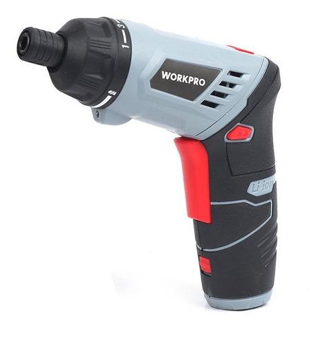 atornillador 4v litio ion workpro w121023 bivolt usb sin int