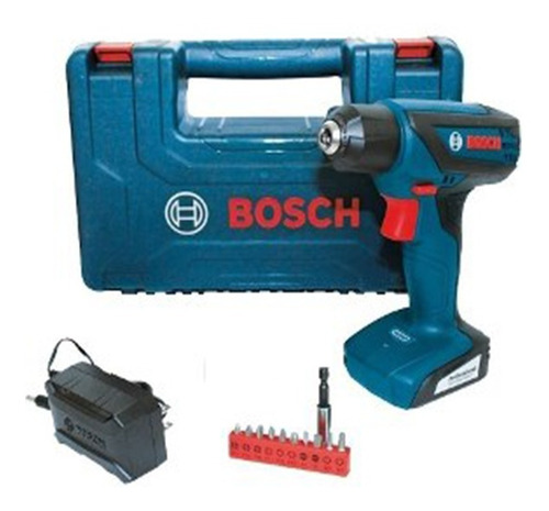 atornillador batería bosch gsr 1000 smart 12v + acc malet