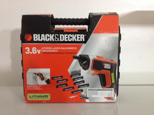 atornillador black&decker