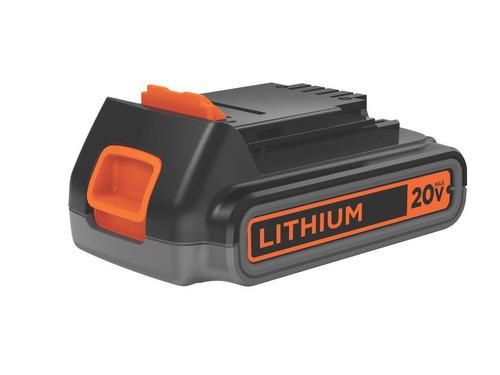 atornillador black&decker batería litio 20v  super oferta