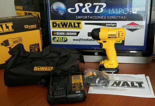 atornillador de impacto 12 v dewalt dcf805 c2 nuevo original