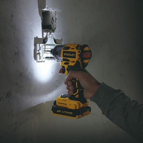 atornillador de impacto inalambrico 20v stanley sbi20s2k-b2