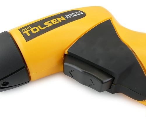 atornillador destornillador inalambrico 79011 tolsen +24pcs