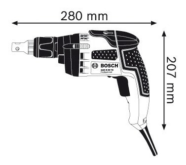 atornillador drywall bosch gsr 6-25 te 2500 rpm