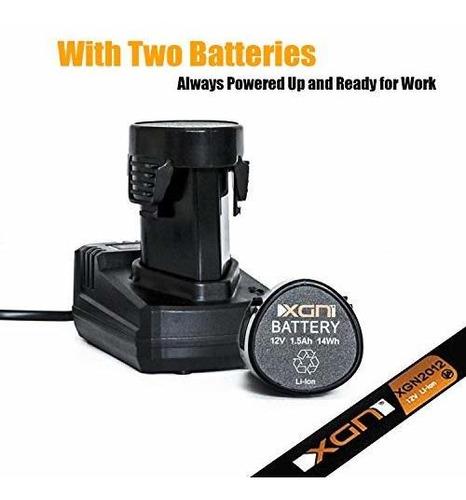 atornillador electrico inalambrico destornillador 12 voltios