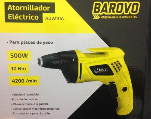 atornillador eléctrico placa yeso 500w barovo adw10a