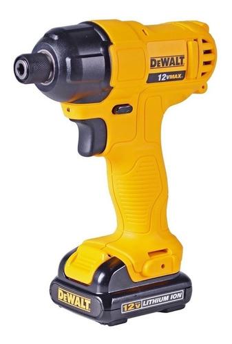 atornillador impacto dewalt dcf805c2 inalambrico 12v  1/4