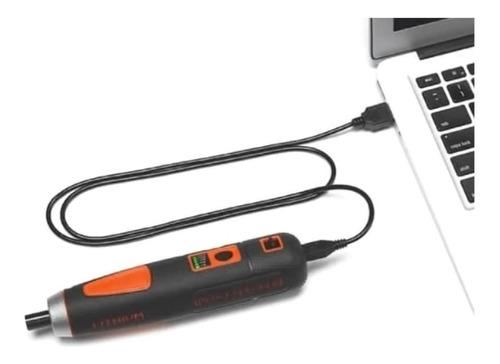 atornillador inalambrico black and decker + 27 accesorios