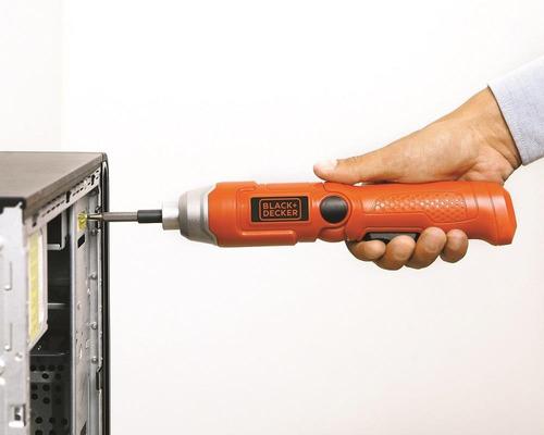atornillador inalámbrico black + decker 3.6v 200rpm
