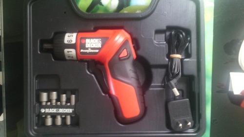 atornillador inalambrico con control de torque black&decker