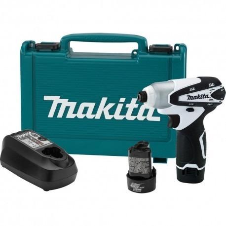 atornillador inalambrico ion de litio de 12v marca makita.