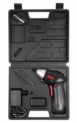 atornillador inalámbrico skil de 3.6 v + maletín + 20 acc