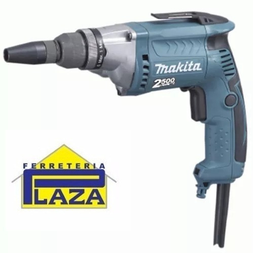 atornillador makita 570w 2500rpm ideal para yeso fs2700