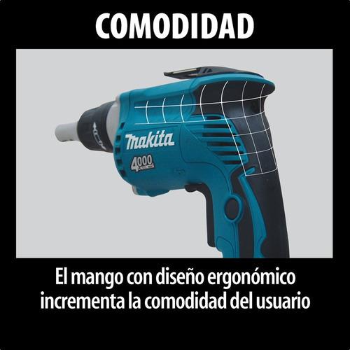 atornillador makita fs2200 durlock electrico 570w 0-2500rpm