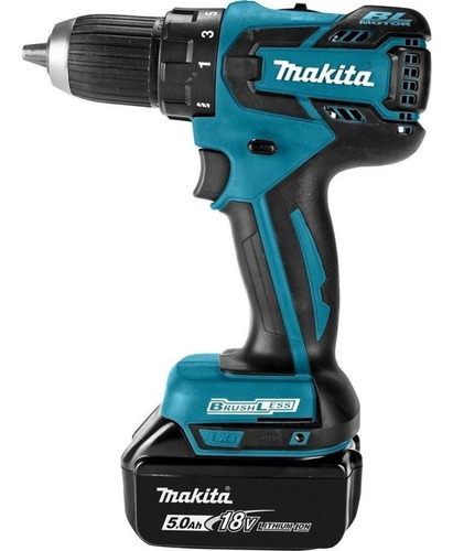 atornillador makita inalambrico 13mm 45nm modelo ddf459z