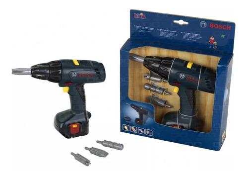 atornillador taladro juguete bosch original luz,sonido 4en1