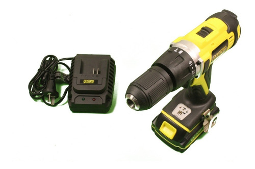 atornilladora taladro percutor 13mm bateria 18v 2ah barovo