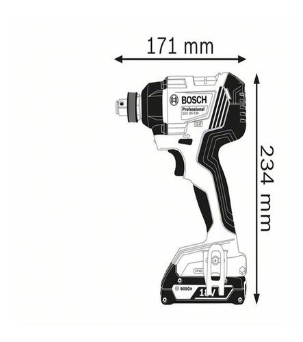 atornillonador llave de impacto bosch gdx 180 li 18v