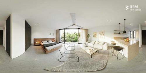 atractivo estudio de 47.8 m2 en tulum