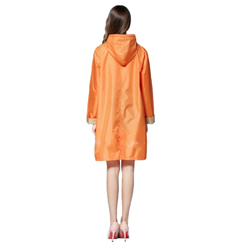 Mujer Abrigo Atractivo Para Rompevientos Estilo Naranja SUVzMqp