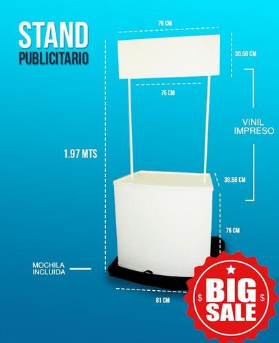 atrae clientes y vende más con un stand publicitario premium