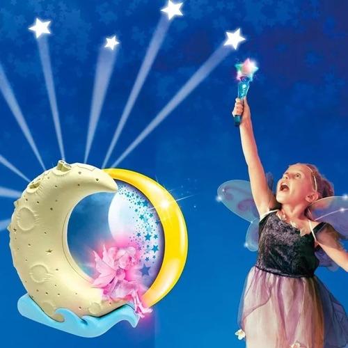 atrapando estrellas con la varita magica lampara de noche tv