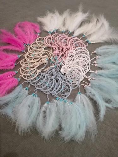 atrapasueños artesanal. a crochet.ideal souvenirs. aro 6 cm