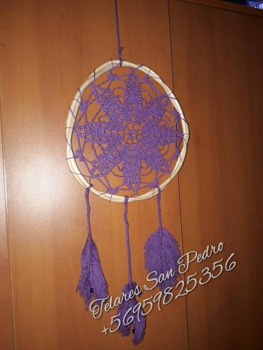 atrapasueños tejidos a crochet