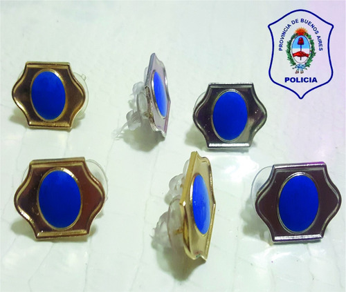 atributo pin distintivo seguridad policia bonaerense