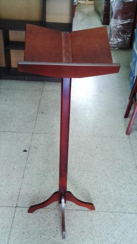 atril de madera o porta biblia
