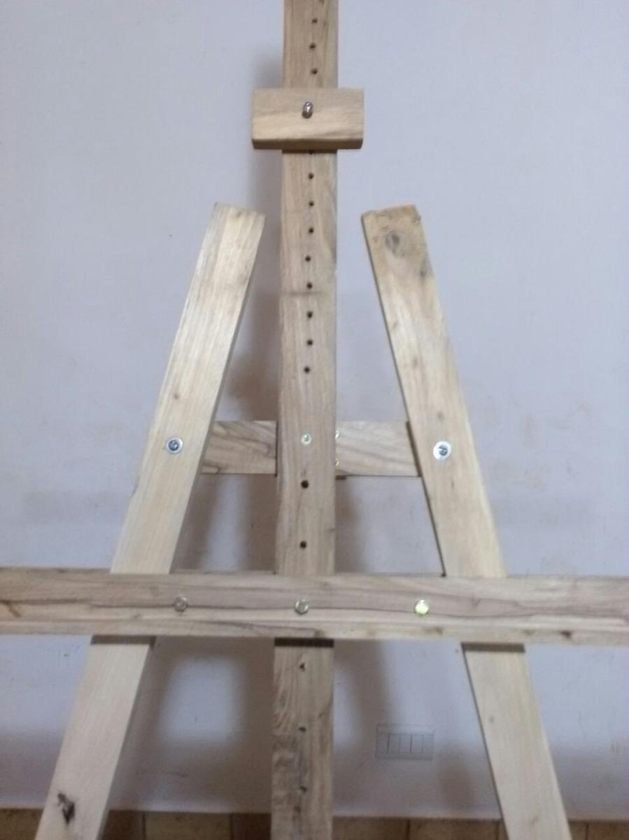 atril de madera para pintar