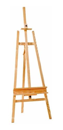 atril de madera pino ajustable de 145 cms