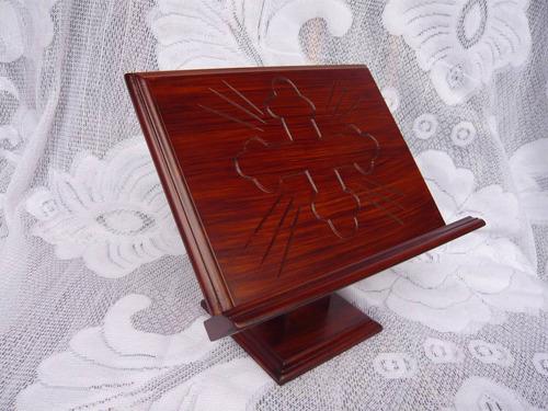 atril de mesa pequeño lacado