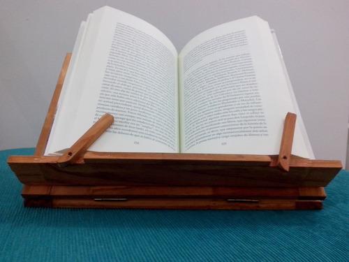 atril lectura madera plegable bastidores tablet libros