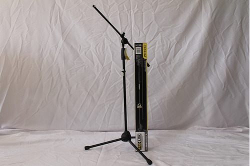 atril micrófono con boom pro-lok + porta micrófono.calidad!!