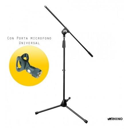 atril para micrófono marca rhino.