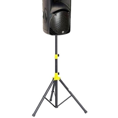 atril para parlantes rhino con seguro pedestal metálico new