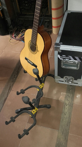 atril triple, guitarras,bajos, x3
