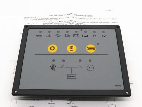 ats módulo control  dse704 automatización planta electrica