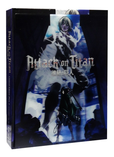 attack on titan parte 2 limited ed digibook blu-ray + dvd