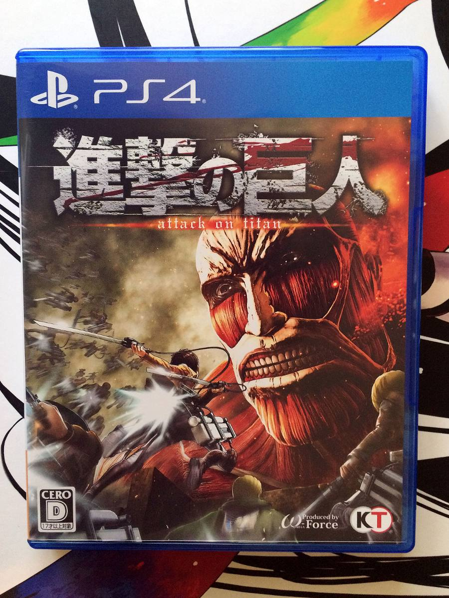 Attack On Titan Shingeki No Kyojin Japones Ps4 Usado