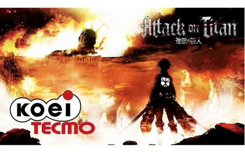 Attack On Titan Xbox One Midia Fisica Lacrado Novo - R ...