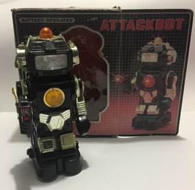 Attackbot V Robot De Los 80'sRetromex Juguete kXiPuZ