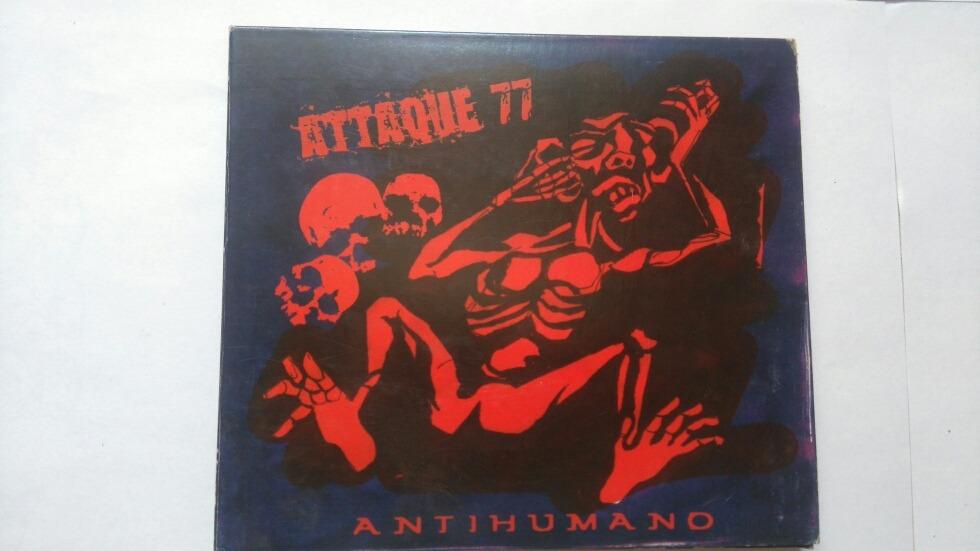 cd antihumano attaque 77 gratis