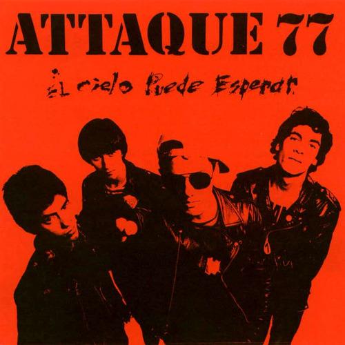 attaque 77 el cielo puede esperar lp vinilo nuevo