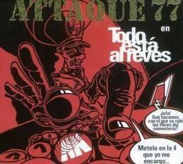 attaque 77 todo esta al reves cd nuevo
